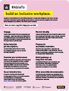 Inclusive workplace infographic thumbnail.